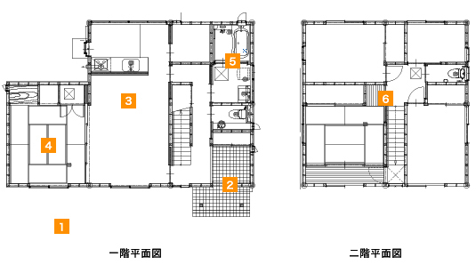 岡山の高気密工断熱の新築